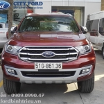 Giao xe Ford Everest Titanium 4x2 - Anh Huấn Quận 12