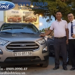 Giao xe Ford Ecosport Trend AT 1.5L Anh Thanh - Tân Phú