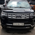 Giao xe Ford Explorer - Anh Thắng