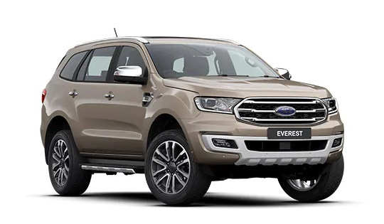 EVEREST TITANIUM 2.0L SI-TURBO 4X2 10AT